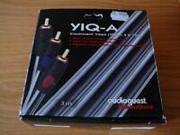 AudioQuest 3-metre component video cable
