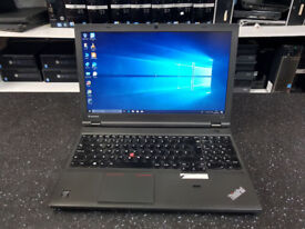 Lenovo Thinkpad T540p Core i5-4200M 2.50GHz 4GB - 500GB HDD Win 10 Laptop