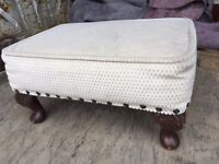 Small reproduction footstool