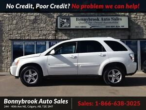 2006 Chevrolet Equinox LT p/sunroof awd w/ leather heated seats