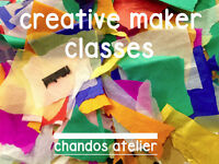 Creative Makers: Art Classes for children - redland/cotham/clifton - Chandos Atelier