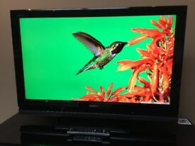 "SONY BRAVIA 37"" FHD 1080p Digital Freeview TV - 4 HDMI - PC - SCART - SRS - BARGAIN RRP £399"