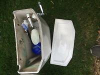 Ensuite toilet and sink - victorian design