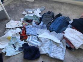 Baby boy 3-6 month clothing bundle