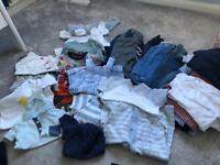 Baby boy 3-6 month clothing bundle