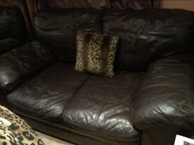"""40"""" SAMSUNG TV (spares and repairs) AND 2 SEATER SOFA."""