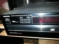 KENWOOD 5 DISC C.D PLAYER ( HAS RANDOM PLAYER )