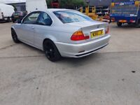 FOR SALE BMW 3 SERIES AUTOMATIC COUPE 2.5 ONLY £799