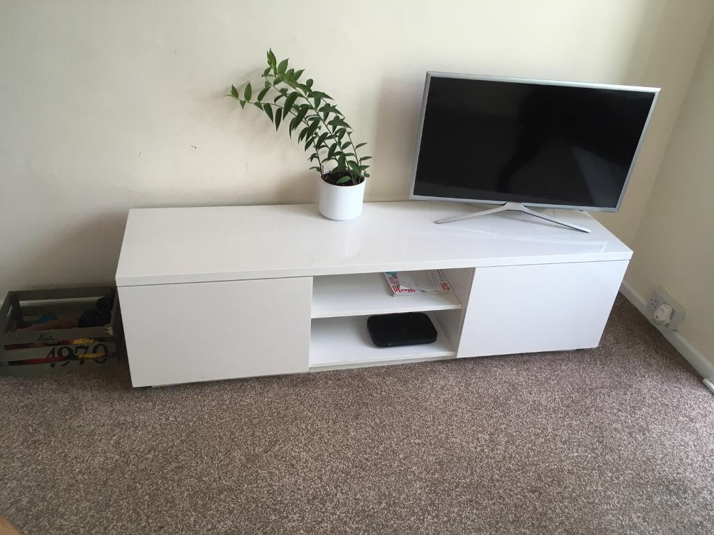 84d470b8c51 IKEA BYAS TV stand