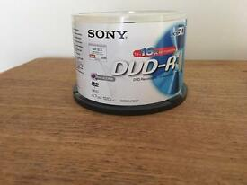 CD & DVD blank discs
