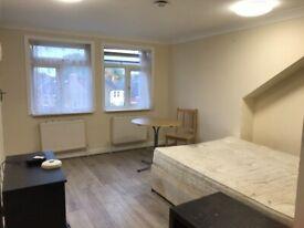 Newly Decorated Large Studio Flat