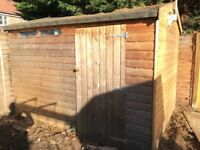 Shed: 3m x 2.4m Good Condition