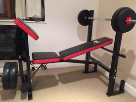 Weightlifting bench