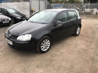 2008 VW GOLF 1.9 DIESEL TDI LONG MOT SERVICE HISTORY RECENT CAMBELT PX WELCOME