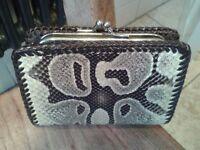 Snakeskin Vintage purse