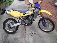 Husqvarna TE450 2004 electric start enduro, supermoto project?