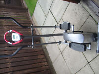 BODY SCULPTURE E STRIDER ELLIPTICAL X TRAINER PROGAMABLE GOOD SOLID EXERCISE MACHINE EX COND £60 ONO