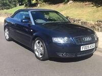 Audi A4 1.8T Convertible 52000 Miles
