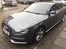 Audi a5 passenger side headlight led