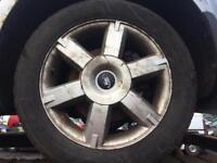 Ford Focus alloy wheels 205/55/16 good tyres