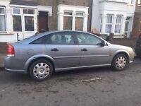 Diesel Vauxhall vectra for sale, 1 former owner, built in sat nav, Long MOT, drives good, cheap.