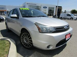 2011 Ford Focus SES | LEATHER | BLUETOOTH |