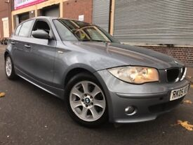 BMW 1 Series 2005 2.0 120i SE 5 door AUTOMATIC, 3 MONTHS WARRANTY, LOW MIEAGE, BARGAIN