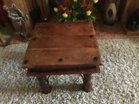 Wooden thakat petite table hand crafted