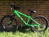 "Halfords BMX Boys' X Rated Exile Dirt Jump Bike - 24"" inch Wheel"