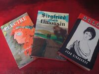 3 x BOOKS IN FRENCH BY JEAN GIROUDOUX