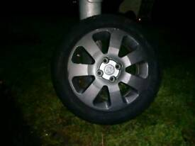 Vauxhall alloys and tyres 15inch