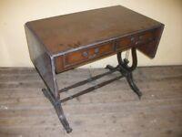 Regency Style Mahogany Sofa Table