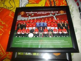 3 MANCHESTER UNITED PICTURES AND RECORD