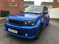 Range Rover sport 2.7 diesel £18000 extra body kit full paint job, a real head turner