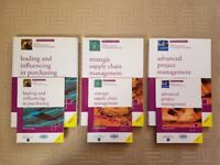 3 Set of Official CIPS Level 6 Textbooks and Mini Study Guides- Excellent Condition
