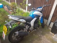 Learner legal 125cc