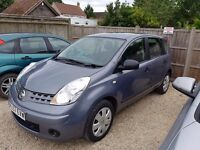 1.4 Nissan Note Visia