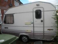 caravan 2 berth sprite 1991