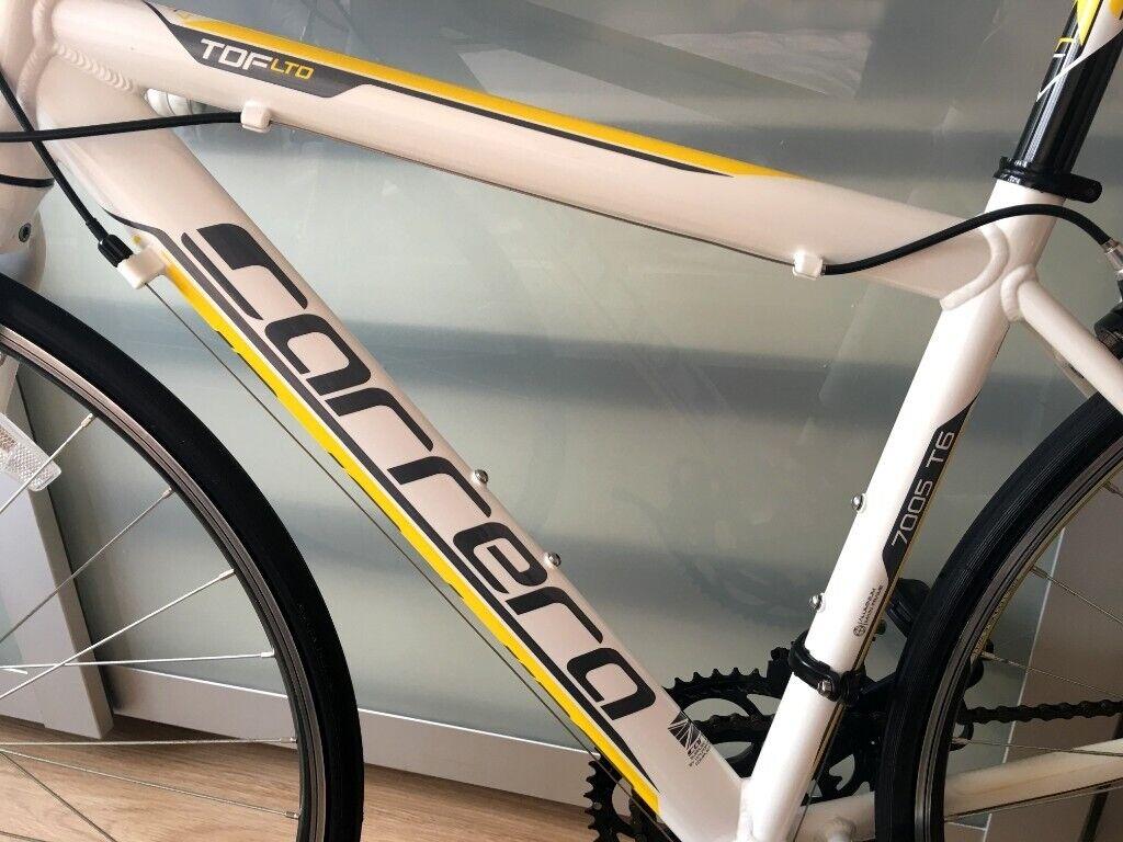 74ac507f35a Bargain! Fantastic Road Bicycle: As new 2018 Carrera TDF Limited Edition 7005  T6 -Medium 43cm frame | in Walthamstow, London | Gumtree