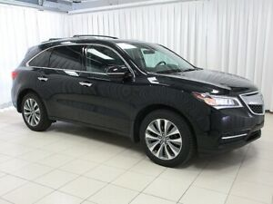 2016 Acura MDX 7 PASSENGER LUXURY SUV - LEATHER - NAVIGATION - D