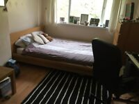 Hi, lovely FURNISHED double room for rent with Kingsize bed. NO DEPOSIT