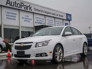 2014 Chevrolet Cruze RS| Leather| Sunroof| Alloys| Bluetooth