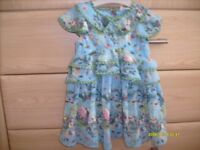 BRAND NEW WITH TAGS NEXT BABY GIRL DRESS 9-12 MONTHS. IDEAL XMAS DAY OR PRESENT