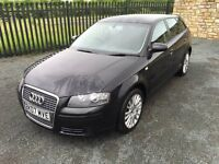 2007 07 AUDI A3 1.9 TDI SE *DIESEL* 5 DOOR HATCHBACK - *JUNE 2017 M.O.T* - CHEAP EXMPLE!!