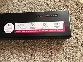 Sale sound bar with wireless subwoofer 300w