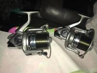 Carp Rods and reels
