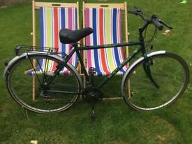 Vintage Men's Racing Green Raleigh Bike
