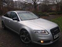 "2006 Audi A6 7 gears 2.7 Tdi Sline 19"" Black edition Rotar Alloy wheels Not 525d 530d a4 Mercedes"