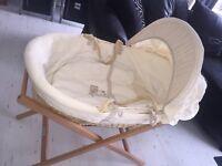 Mamas and papas Baby's moses basket