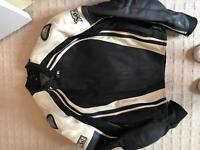 Frank Thomas motorcycle jacket leather